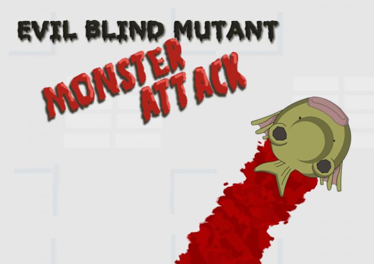 Evil Blind Mutant Monster Attack